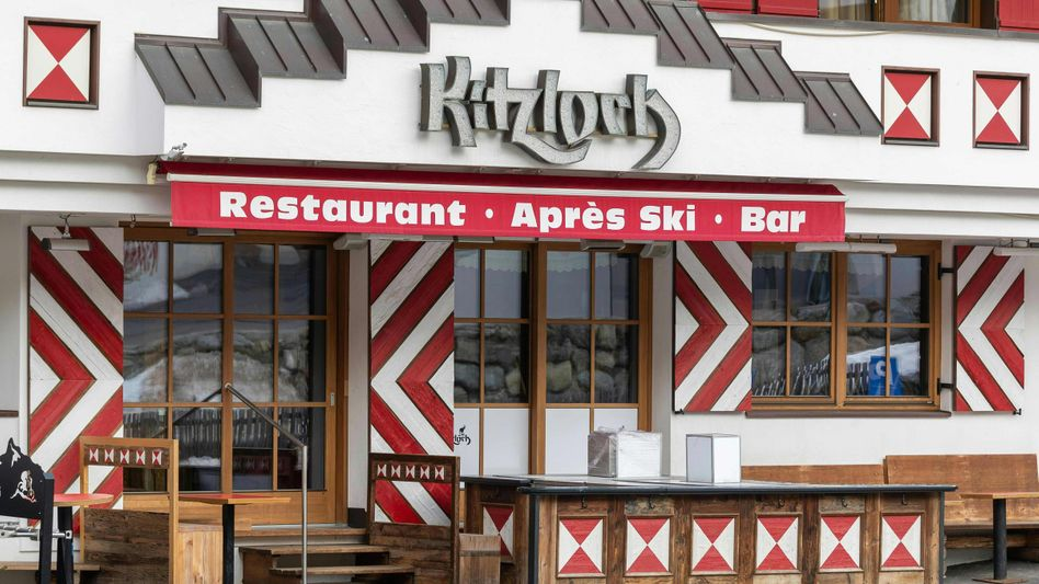 """The now-shuttered après-ski bar Kitzloch in Ischgl: """"Greed and Failure"""""""