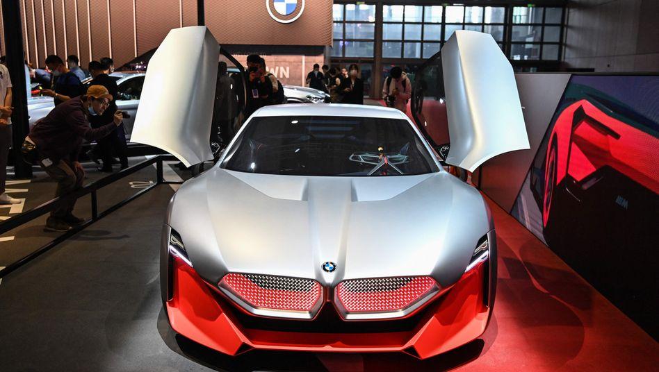 BMW-Exponat auf der Automesse in Shanghai