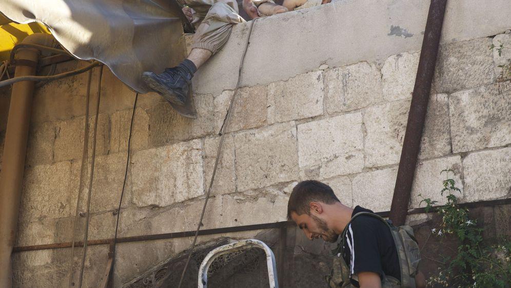 SPIEGELblog: Verletzte in Aleppo