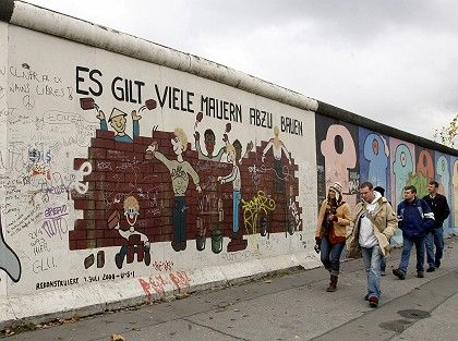 The Berlin Wall: a potent symbol of the Cold War