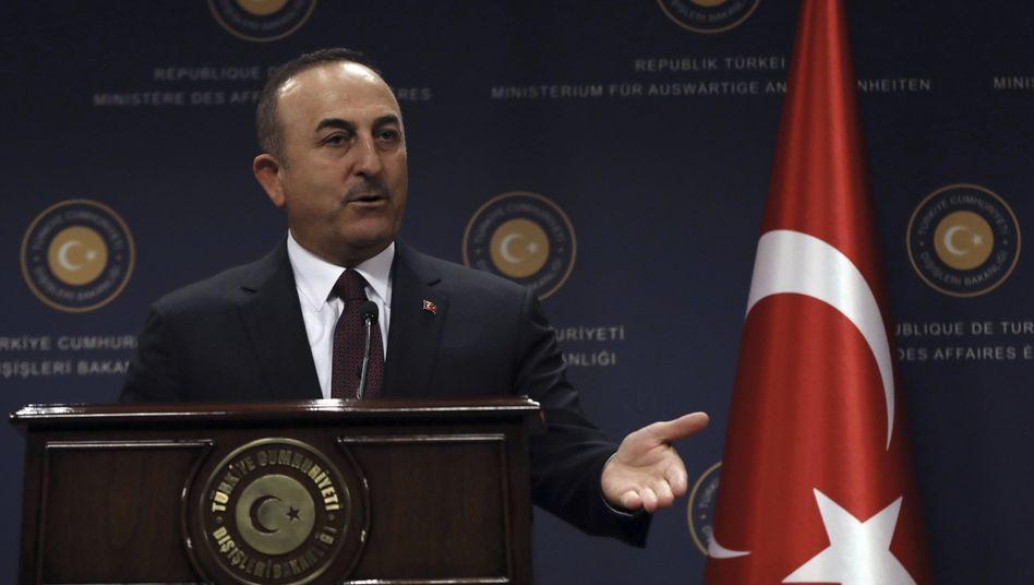 Mevlut Cavusoglu: Harte Kritik an Armenien-Resolution des US-Repräsentantenhauses (Archiv)