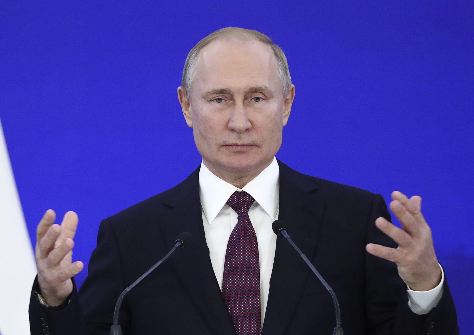 Wladimir Putin - Lage
