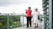 Merkel trifft Queen Elizabeth