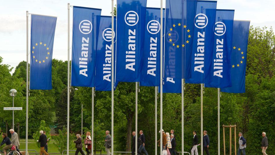 Die Allianz-Versicherung will klimafreundlicher werden