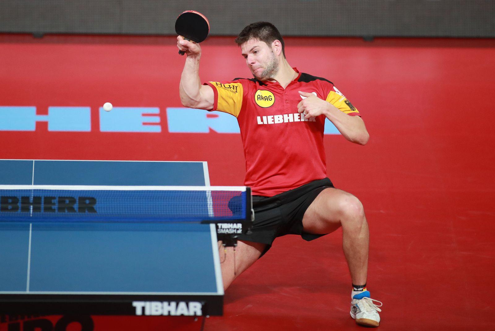 Tischtennis-EM - Deutschland - Slowenien