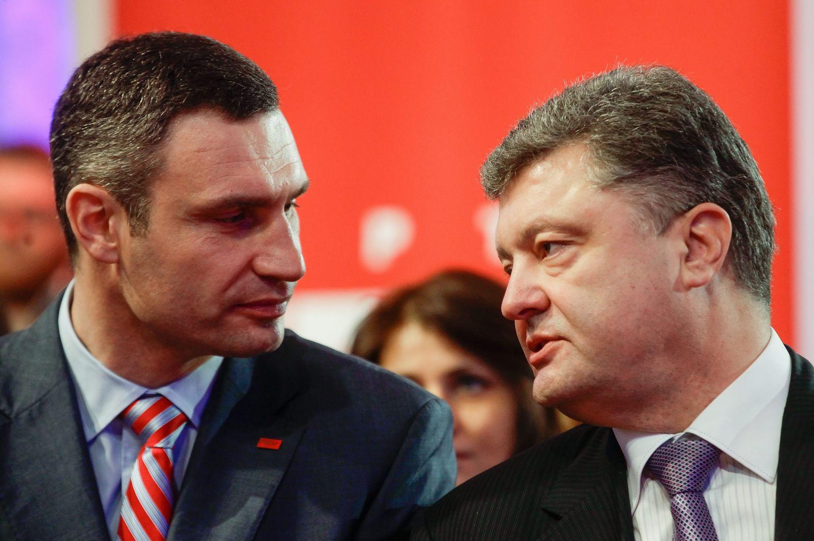 DER SPIEGEL 21/ 2014 pp 86 SPIN / Poroschenko Ukraine