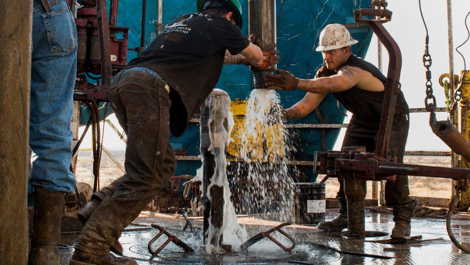 Ölförderung in Texas (2014)