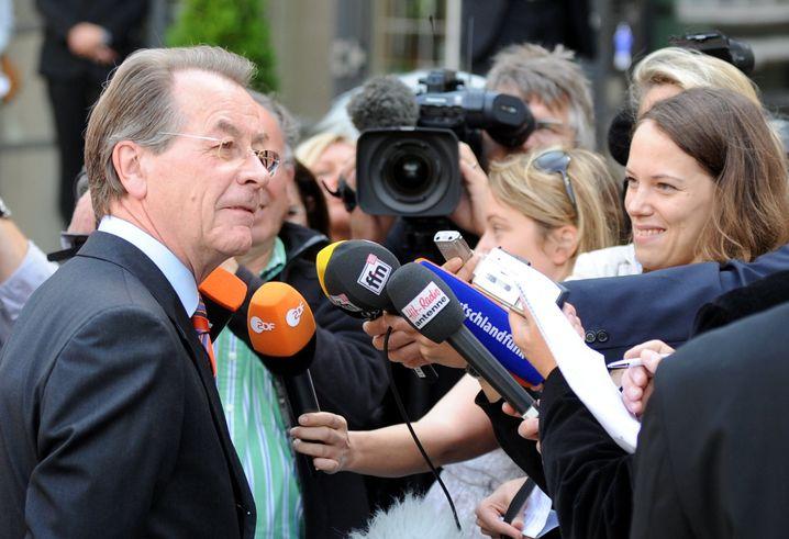 """SPD-Chef Müntefering: """"Ihr seht ja alle so gut aus!"""""""