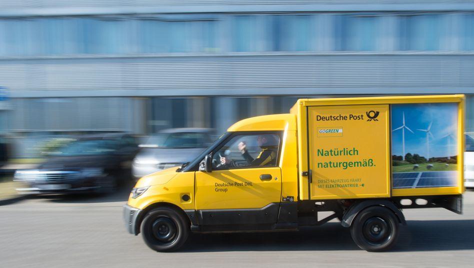 Streetscooter der Deutschen Post: Gefahr der Rauch- und Hitzeentwicklung