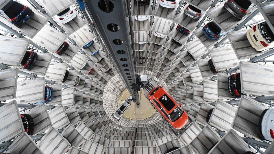 VW-Zentrale in Wolfsburg (Archiv): Was droht in den USA?