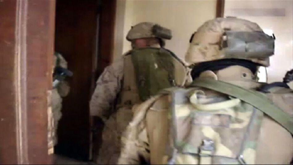 Soldaten im Einsatz: Die Erinnerungen lassen sich nicht abschütteln