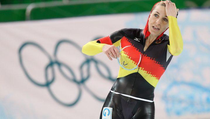 Friesinger enttäuscht: Große Olympia-Karriere vor dem Ende