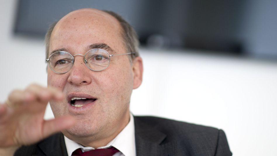 Linke-Fraktionschef Gysi: Gesellig und in Plauderlaune