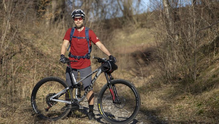 Deutschlandtour: Mit Smartphone und Mountainbike