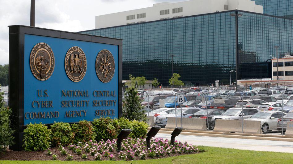 NSA-Zentrale in Fort Meade: Späher sammeln SMS