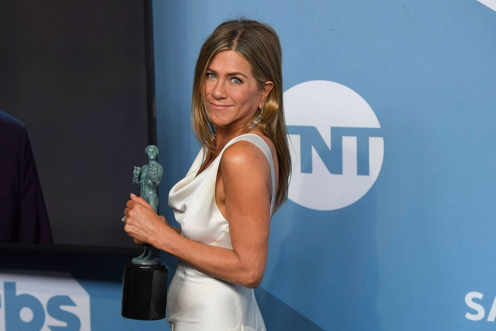 January 19, 2020, Los Angeles, California, USA: JENNIFER ANISTON in the Press Room during the 26th Annual Screen Actors