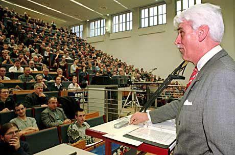 In den Vorlesungssälen der Uni Leipzig wird es bald empfindlich kalt
