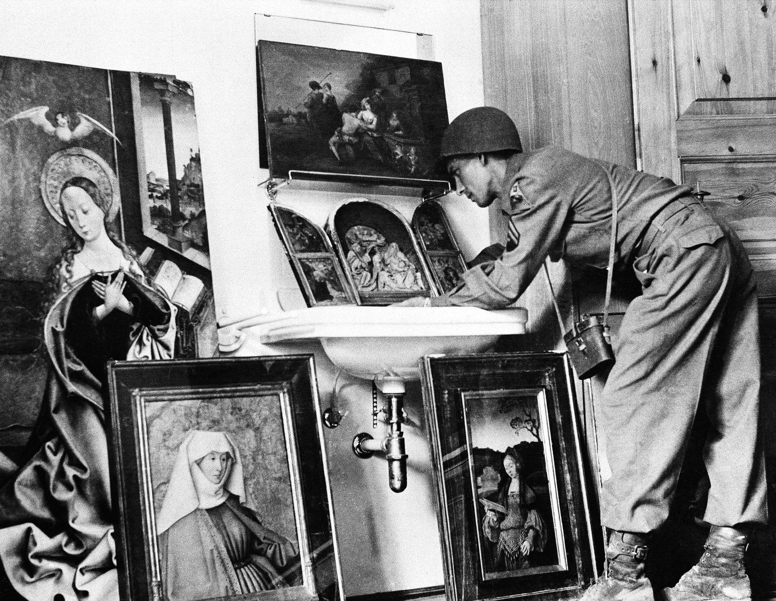 Hermann Göring / Raubkunst