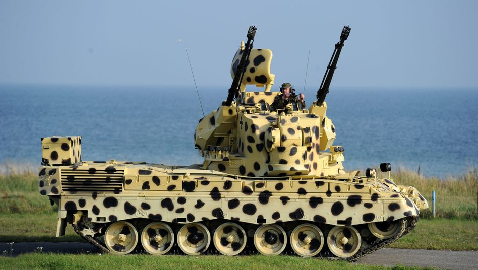 Flugabwehrpanzer Gepard (Archivfoto von 2010)
