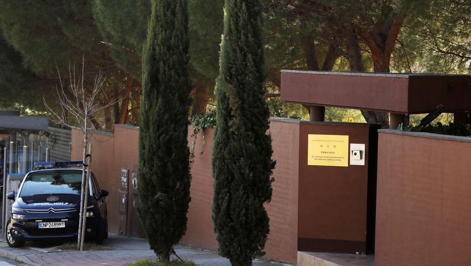 Nordkoreanische Botschaft in Madrid