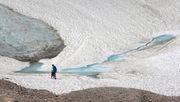 In den deutschen Alpen schwinden die Gletscher