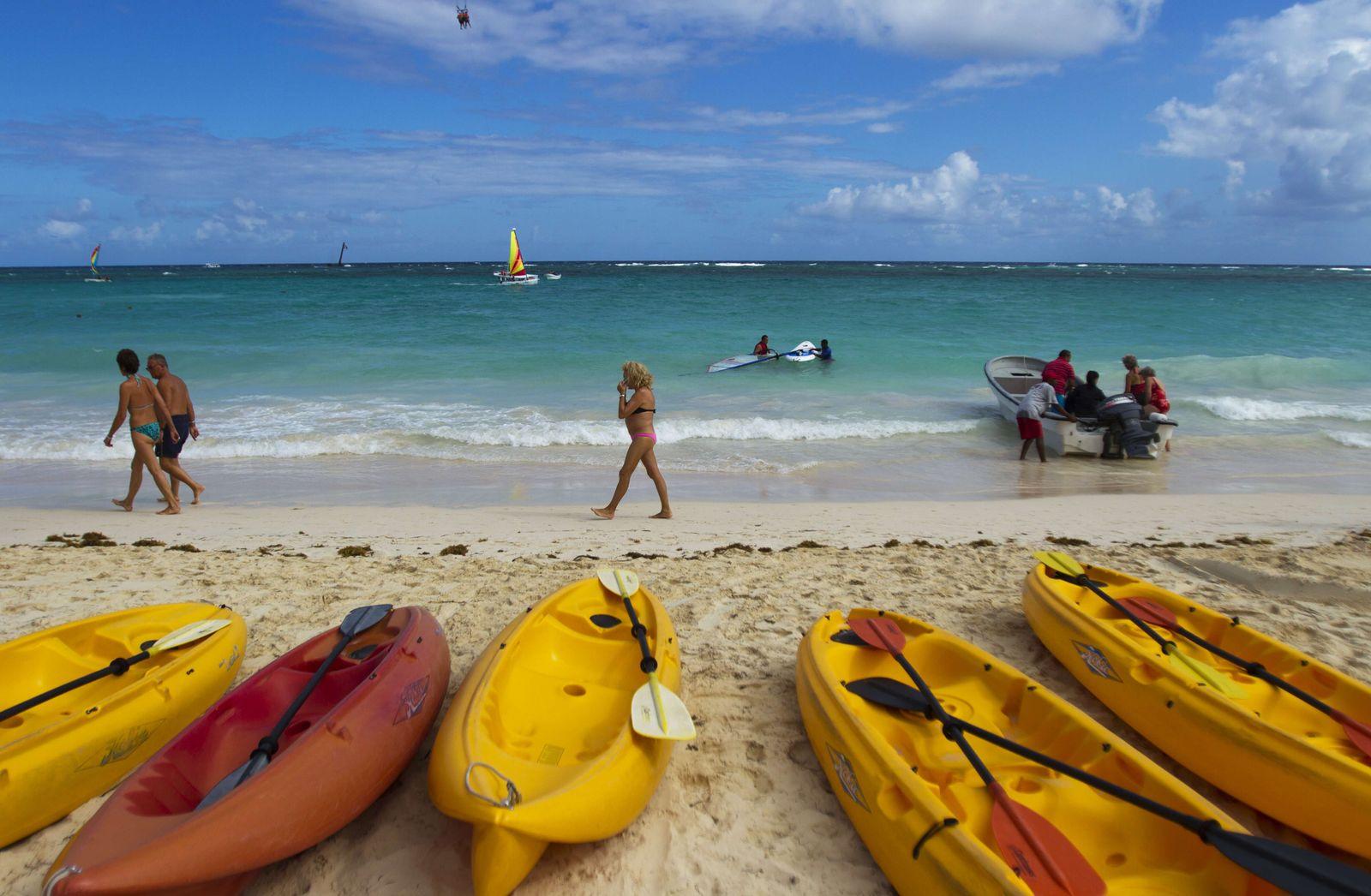 Strand in Punta Cana, Dominikanische Republik