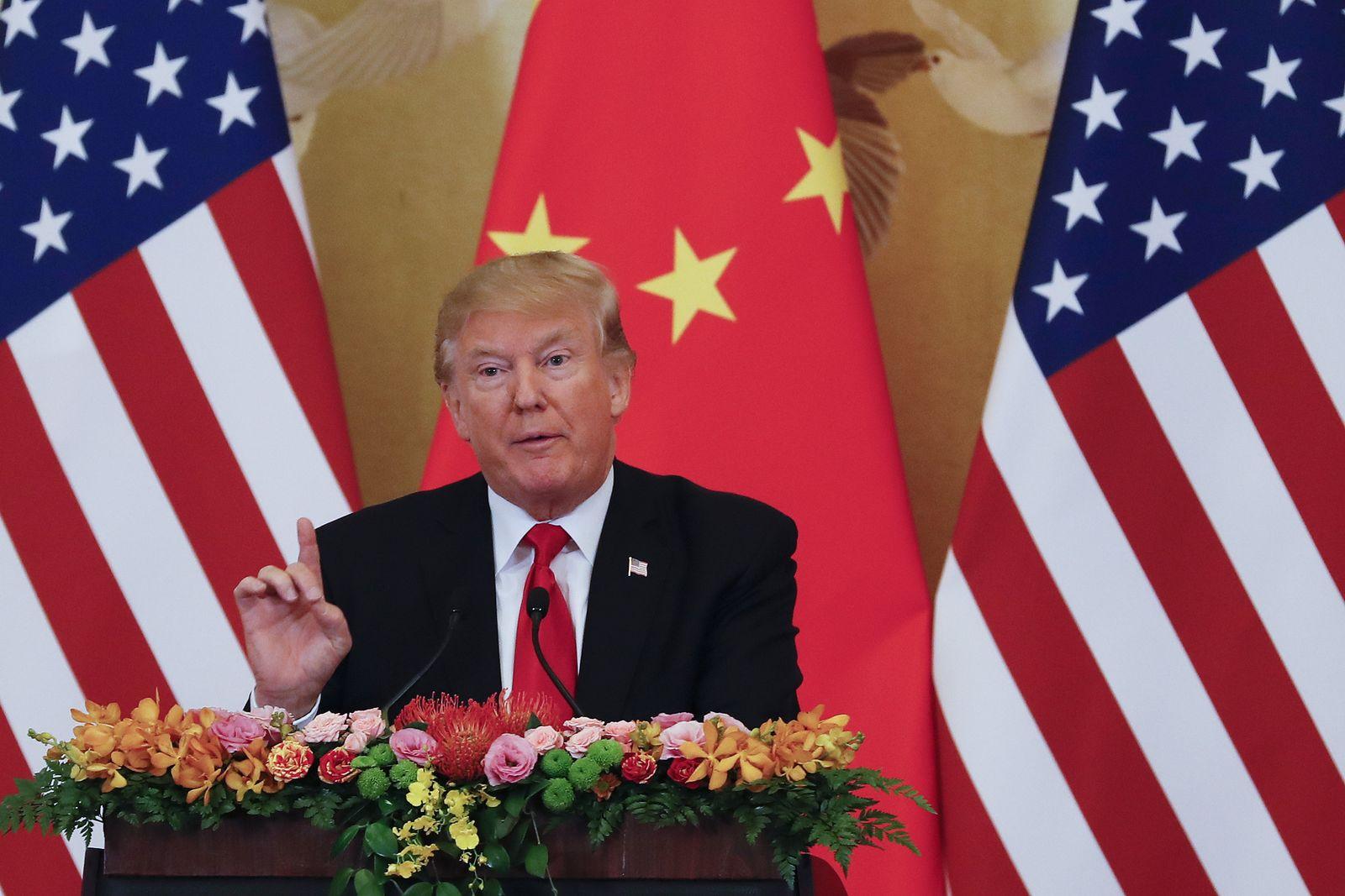Donald Trump/ USA/ China/ Asien