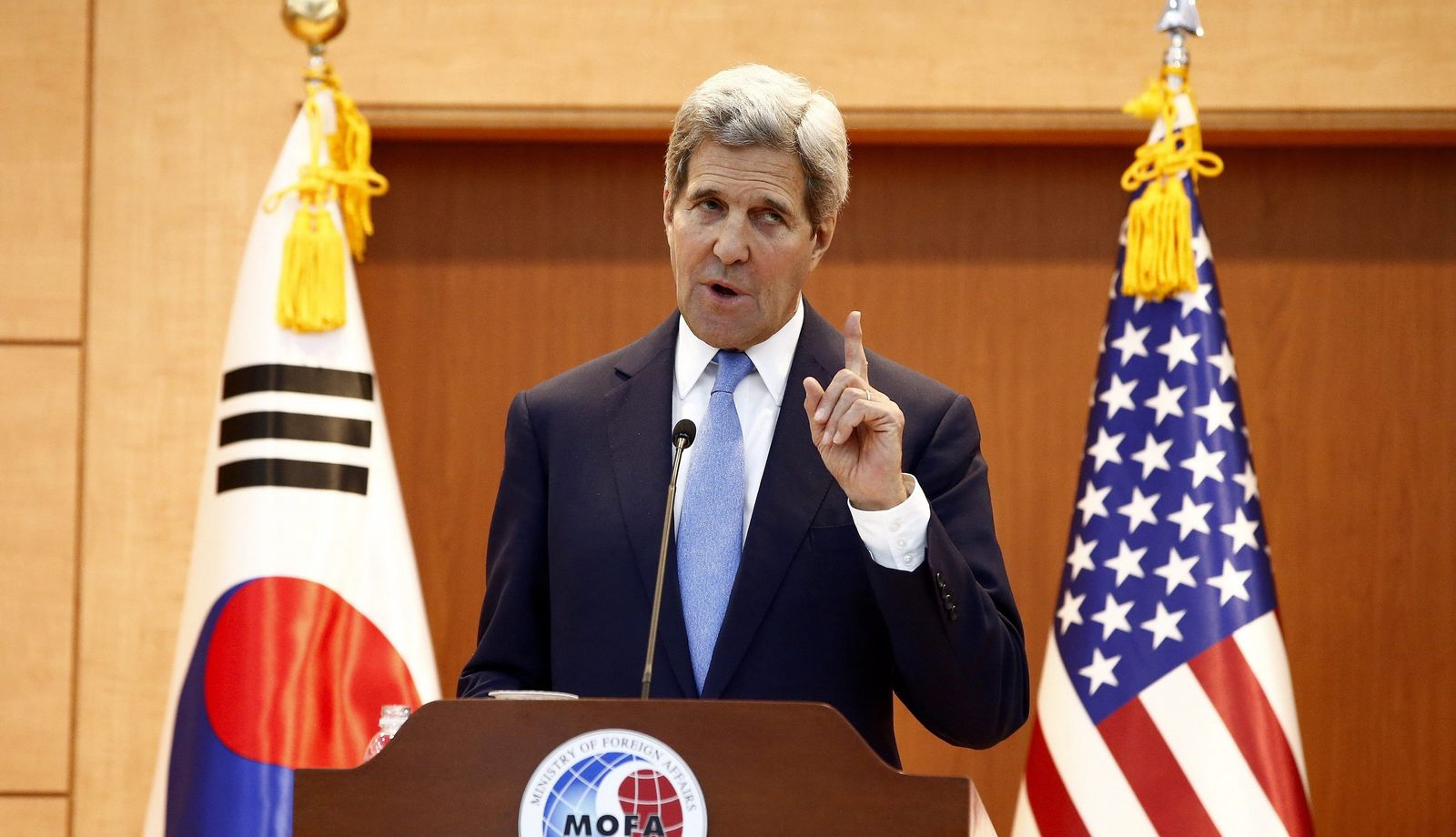 USA / US-Außenminister John Kerry in South Korea
