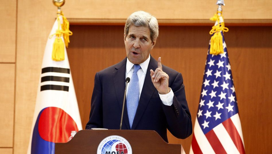 US-Außenminister Kerry in Seoul: Droht Pjöngjang mit Sanktionen