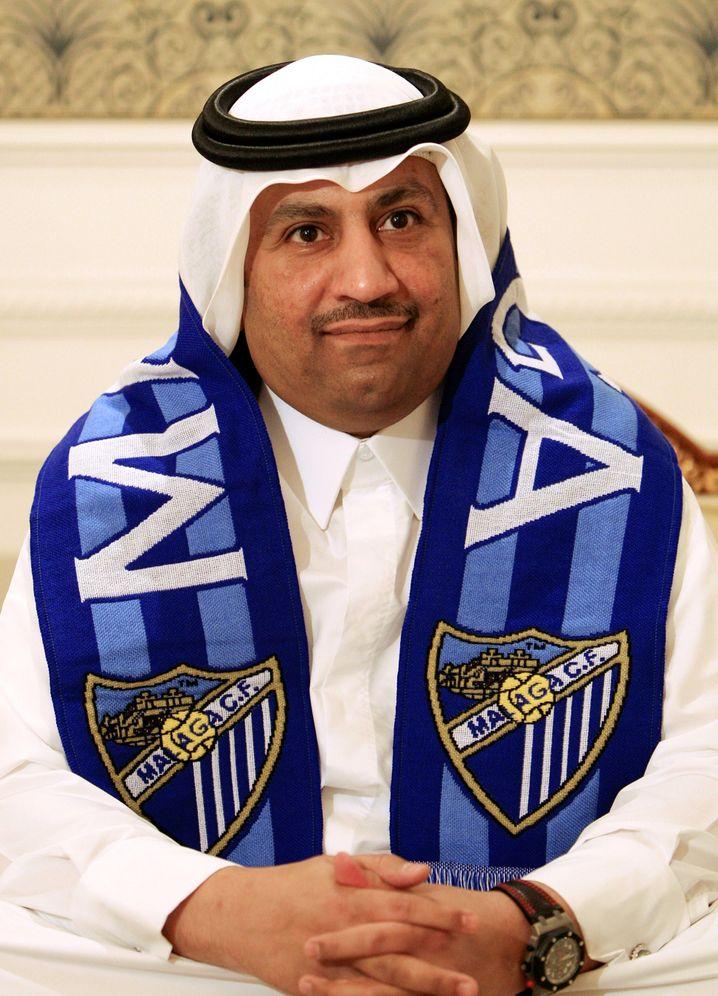 Er ist der Mann, der bei Málaga bestimmt: Abdullah Al-Thani