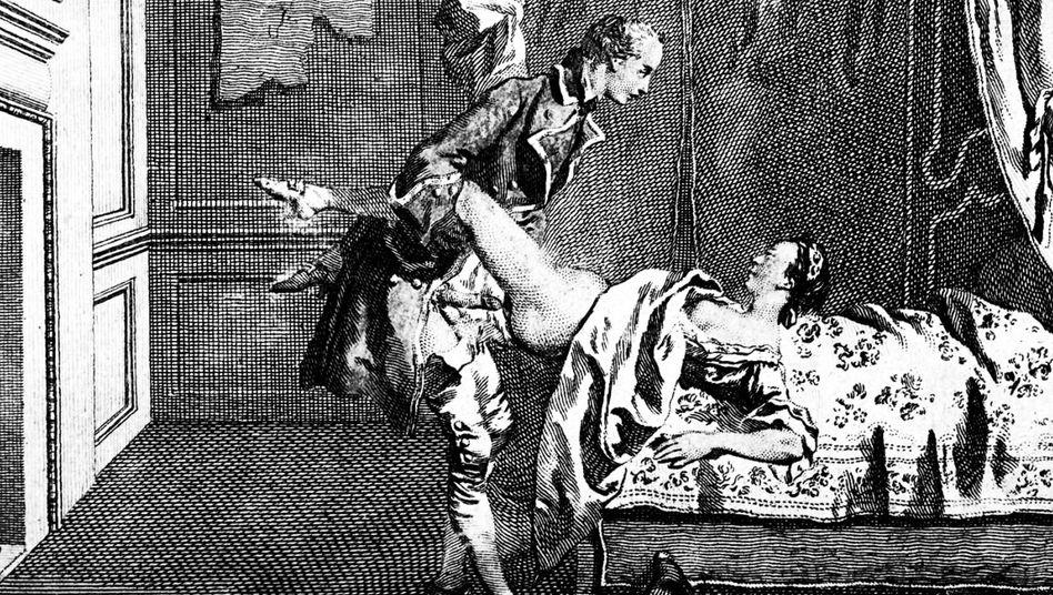Erotische Darstellung, 1766