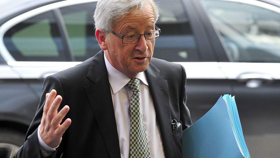 """Euro-Gruppen-Chef Juncker: Verhalten der Karlsruher Richter """"nicht hilfreich"""""""