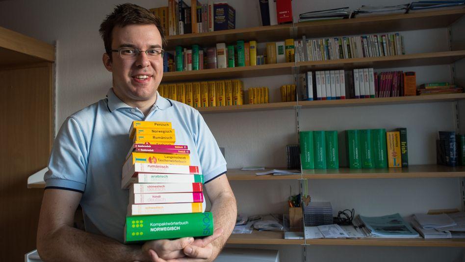 Sprachgenie Michal Perlinski: Studium auch ohne Abitur