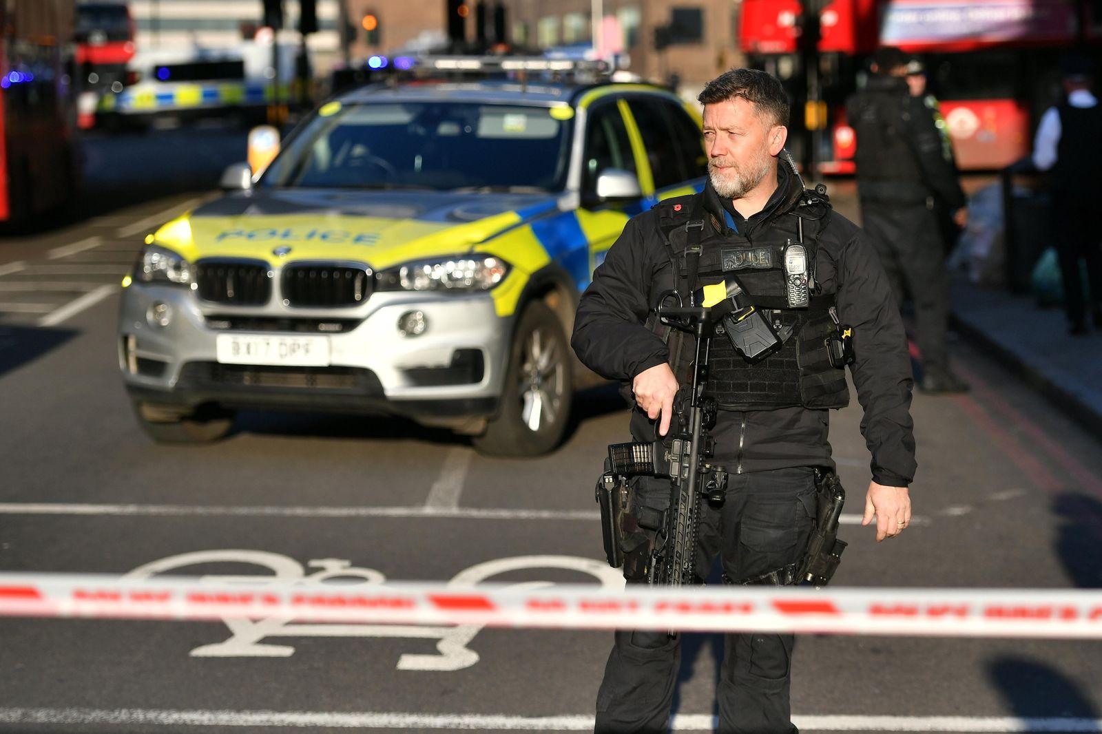 Schüsse bei Zwischenfall in London