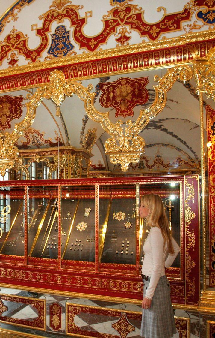 Aus diesem begehbaren Tresor wurden die Juwelen offenbar entwendet