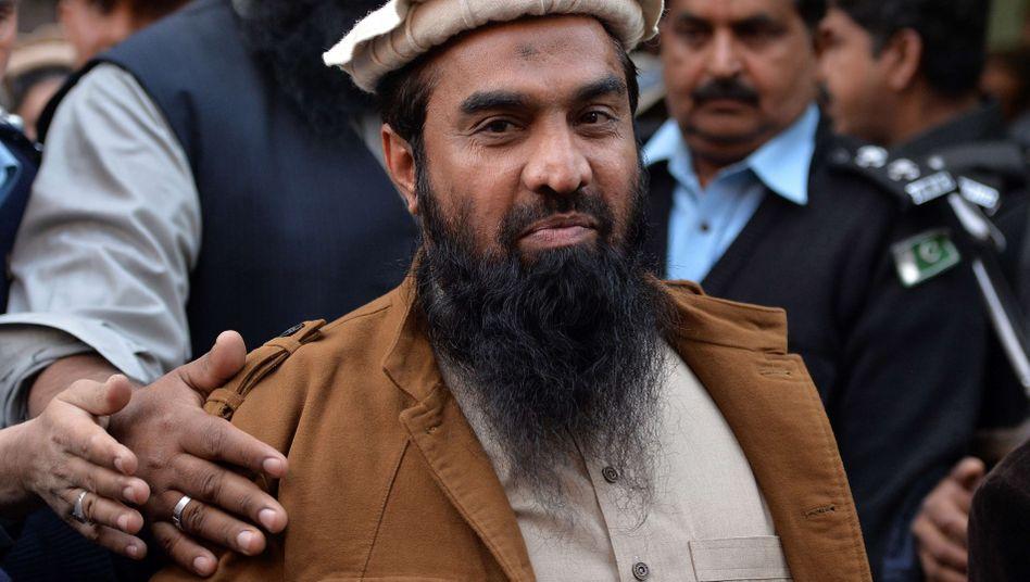 Zaki-ur-Rehman Lakhvi (Archiv): Mutmaßlicher Mumbai-Attentäter