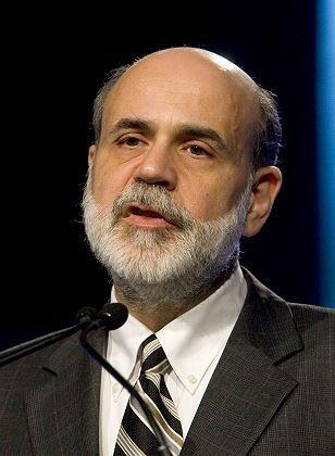 Ben Bernanke, chairman of the board of the US Federal Reserve bank
