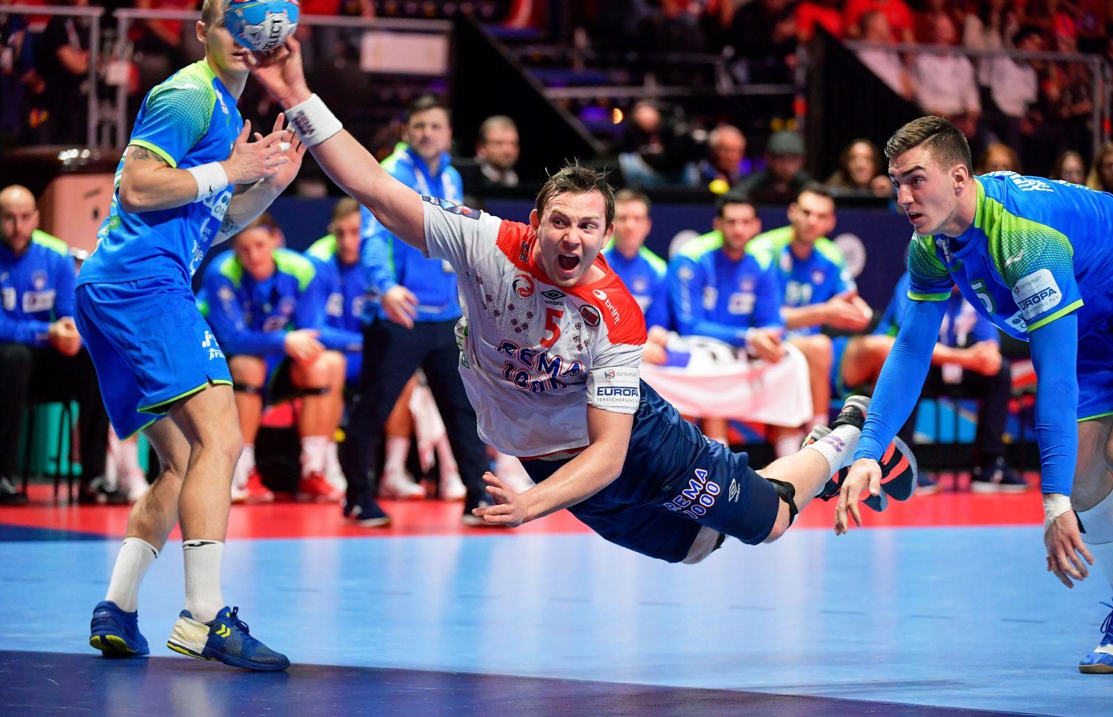 EHF Handball Men European Championship, Stockholm, Sweden - 25 Jan 2020