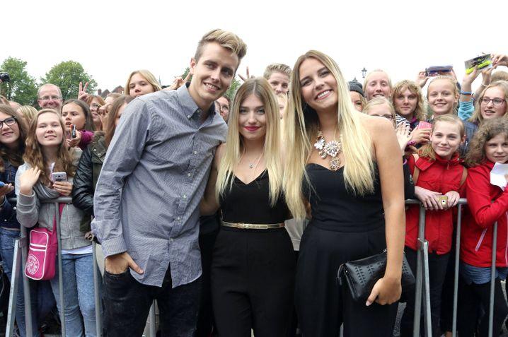 """Bibi (M.) mit Freund Julian, YouTube-Kollegin Dagi Bee: """"DU bist mein großes Vorbild"""""""