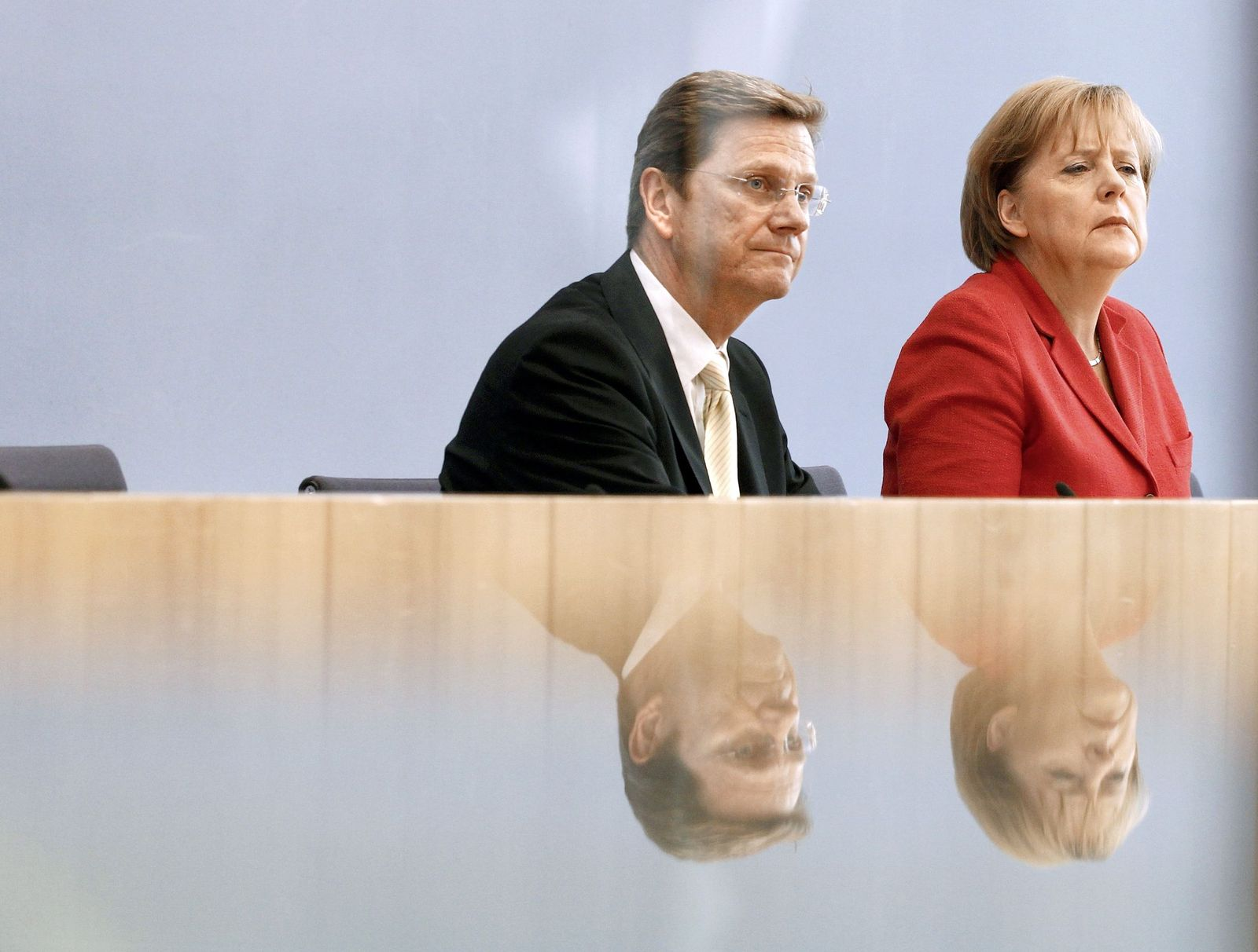 Westerwelle / Merkel