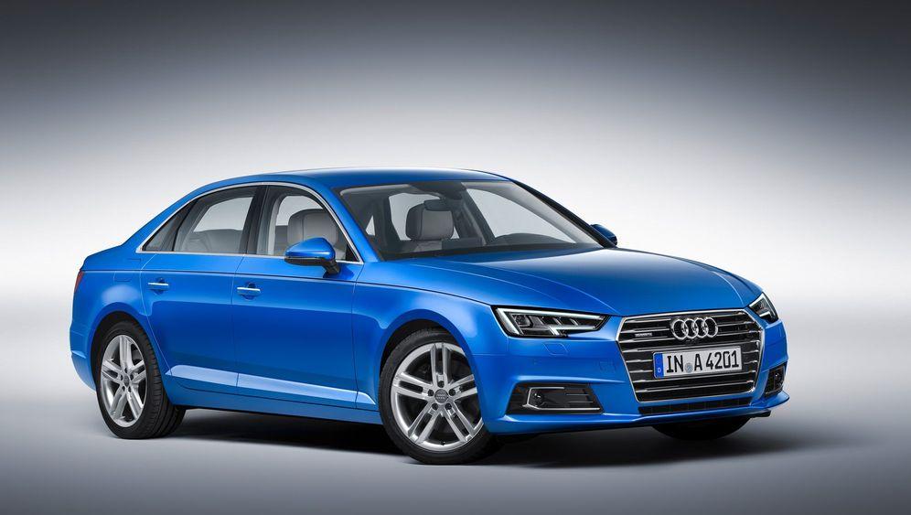 Premiere Audi A4: Fortschrittchen