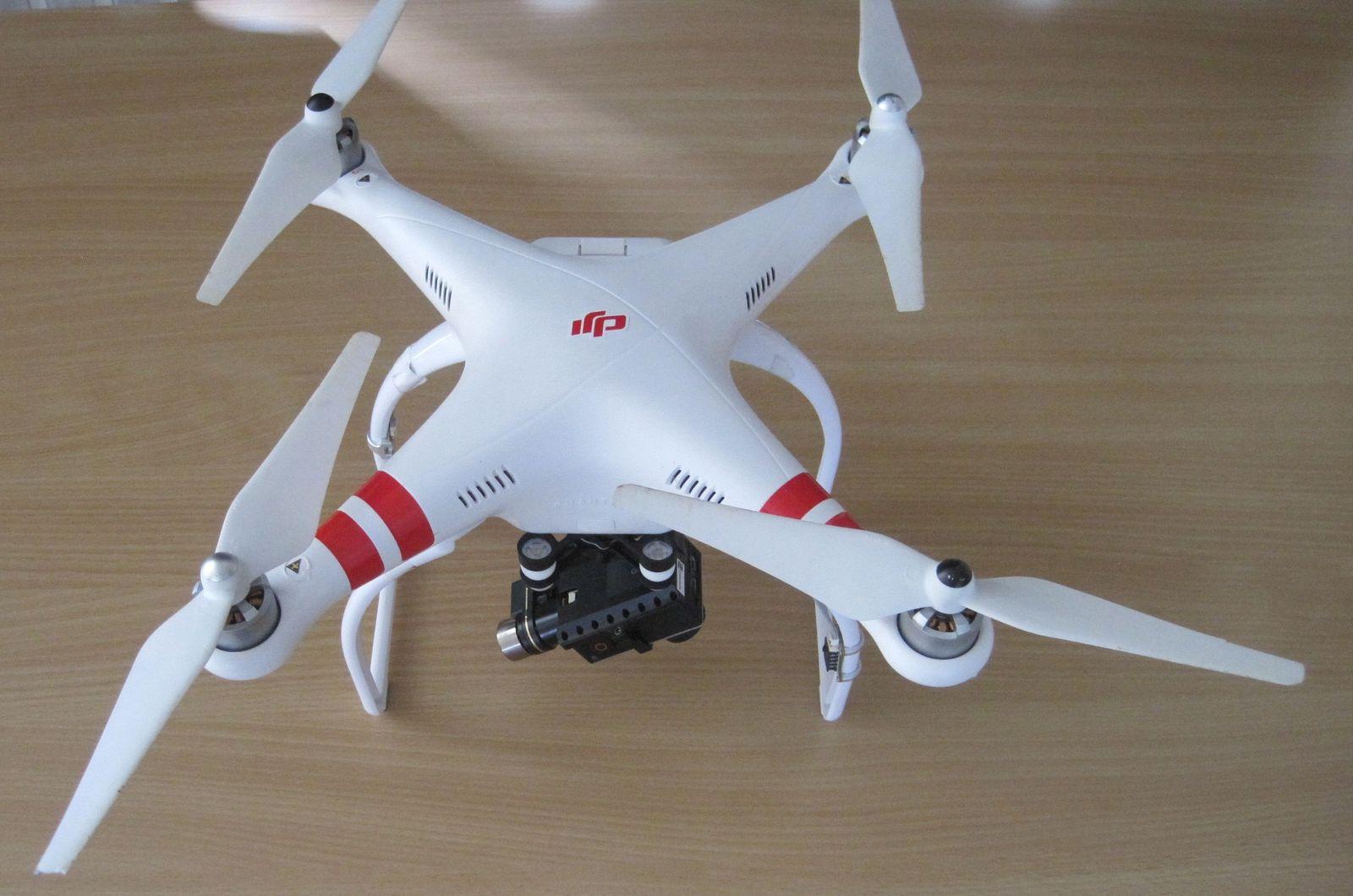 EINMALIGE VERWENDUNG Drohne/ Quadrocopter/ Phantom
