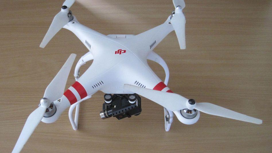 Gefundene Drohne: Polizei sucht Besitzer