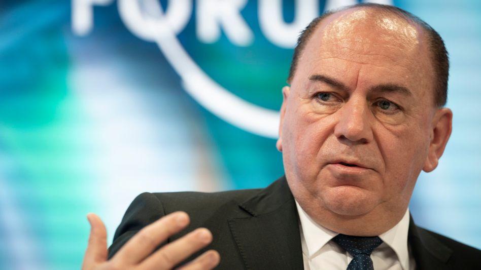 UBS-Verwaltungsratschef Axel Weber