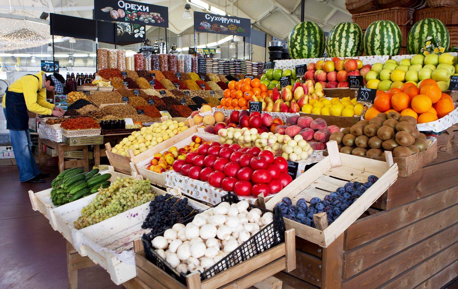 Russland / Obst / Gemüse / Import / Markt