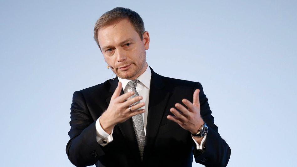 FDP-Chef Christian Lindner: Endlich mal Überzeugungen