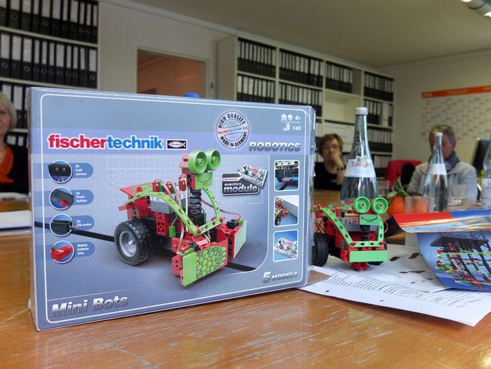 Roboterfahrzeug: Zu kompliziert für einen Achtjährigen?
