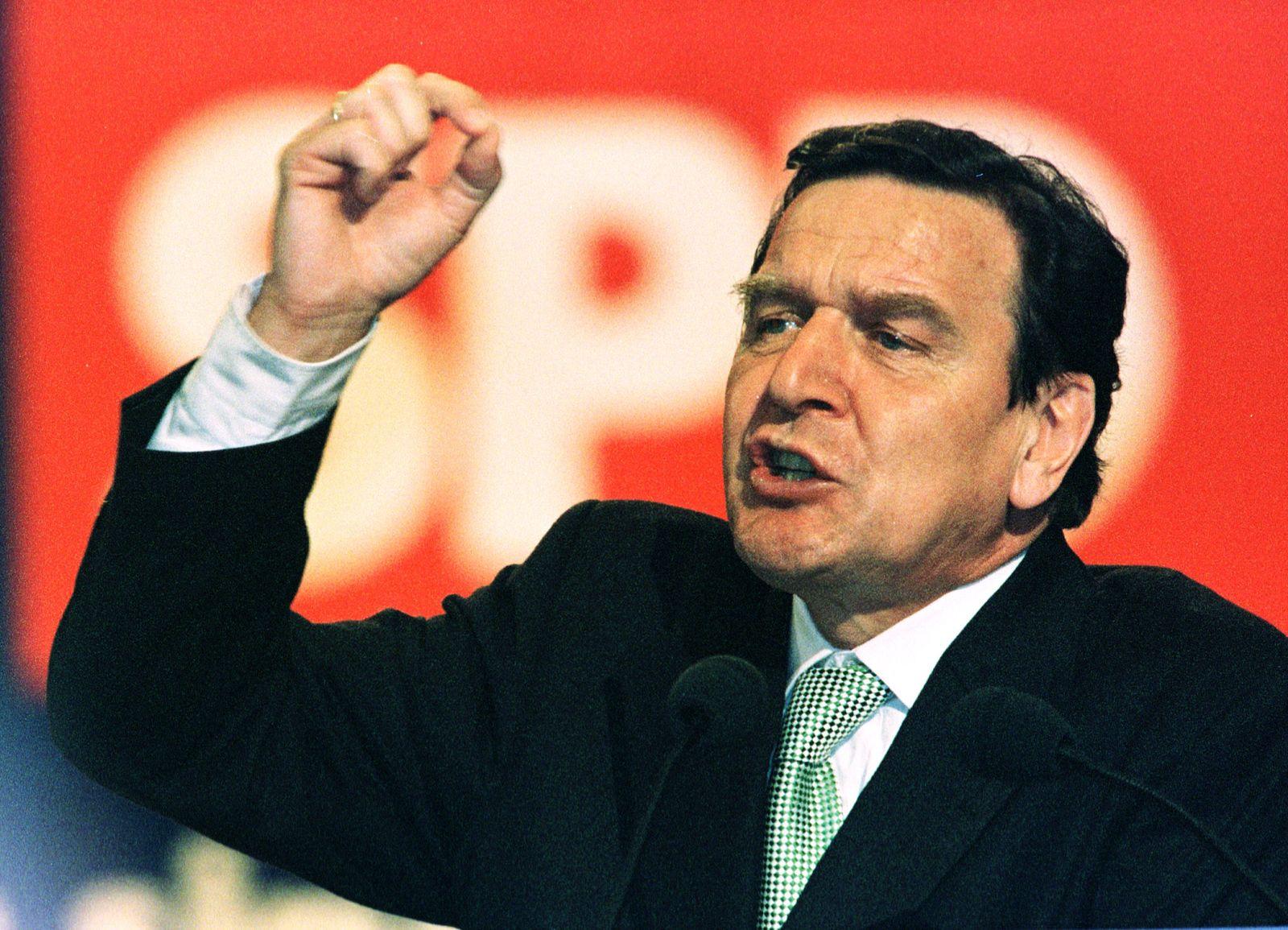 Gerhard Schröder/ 1998