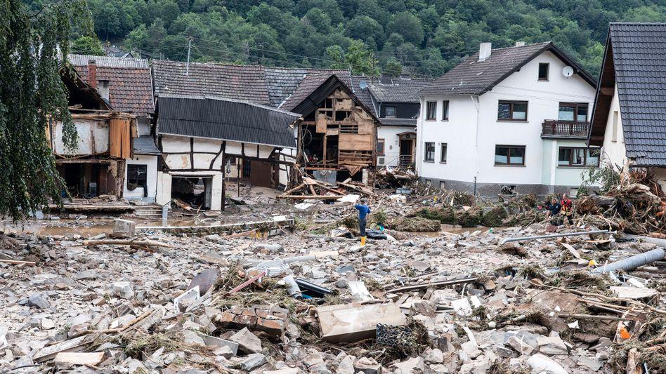Zerstörung im Kreis Ahrweiler