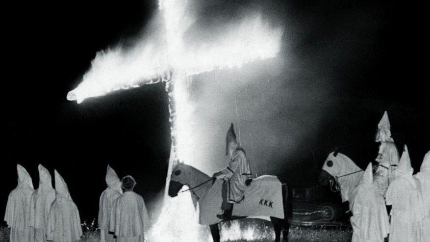 Ku-Klux-Klan-Treffen um 1965